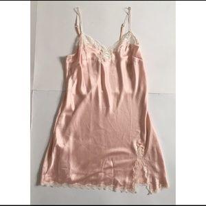 NWT Victoria's Secret Slip Pink Lace